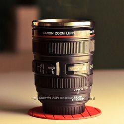 Объектив Термо Кружка Canon Nikon. Лучшие копии
