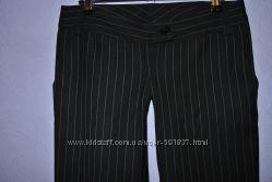 Строгие брюки с ультранизкой посадкой, Новые, р. S-XS