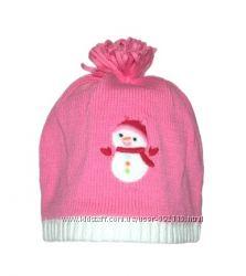 Шапочка Снеговик Gymboree для девочек 1-2 лет