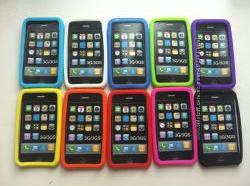 Чехлы силиконовые для Iphone 3, 3S в наличии все цвета 80грн