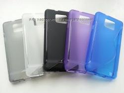 Чехол из силикона для Samsung Galaxy S2 i9100