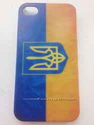Чехлы с флагом и гербом Украины на Iphone 4 5 5c