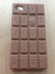 Силиконовый чехол-шоколадка для Iphone 4G4GS