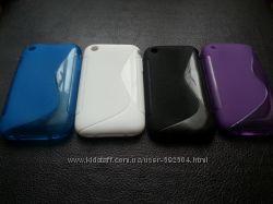 Силиконовые чехлы iPhone 3, 3S 120грн