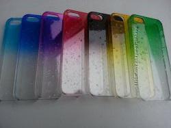 Чехол прозрачный на Iphone 5 5S с эффектом росы 100грн