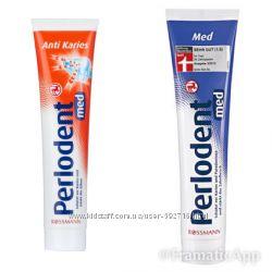 Немецкая зубная паста и детская Dontodent, Perlodent и Friscodent