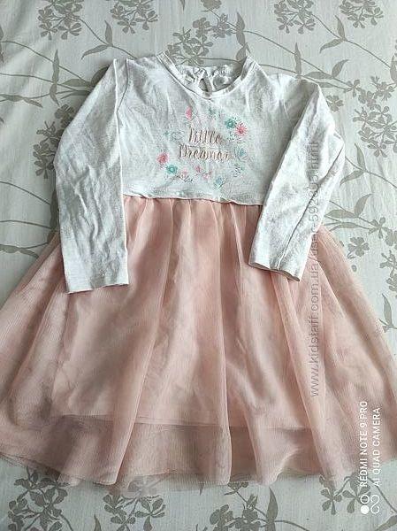 Pepco красивое платье для девочки 92р.