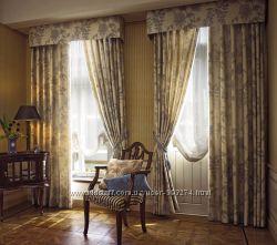 Классические  шторы,  дизайн, пошив, карнизы в Броварах.