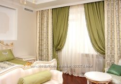 Пошив штор для дома, офиса, гостиниц, ресторанов , японские шторы.