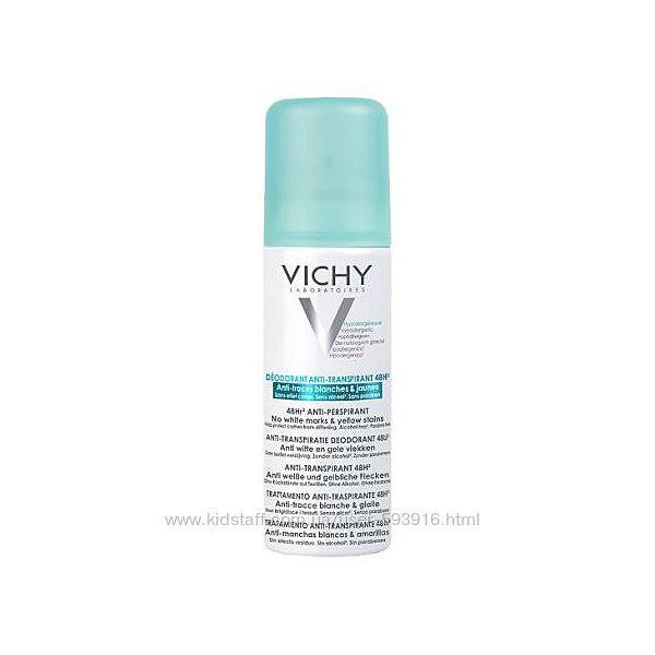 Дезодорант-антиперспирант Vichy против белых и желтых пятен