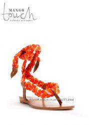 Продам новые кожанные сандалии MANGO размер 40