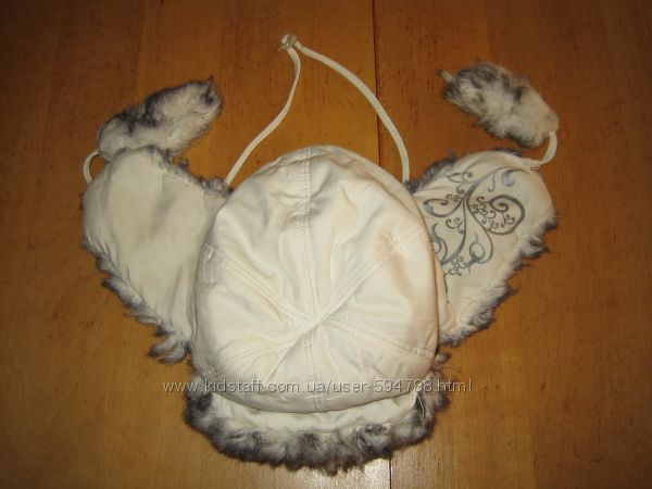 Зимняя шапочка ушанка