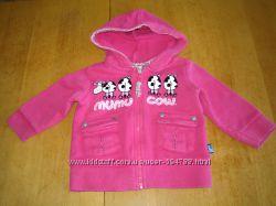 Трикотажная курточка mumu cow для девочки, размер 9 мес.