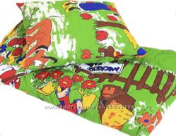 Детский комплект одеяло и подушка синтепон