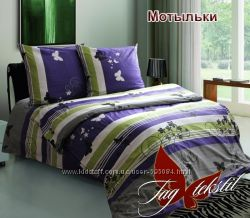 Семейные комплекты постельного белья, бязь люкс