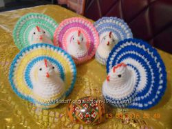 Пасхальная курочка-сюрприз - необычное украшение Пасхального стола.
