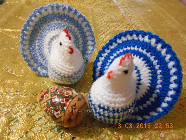 Пасхальная курочка-сюрприз - необычное украшение Пасхального стола. Поделка