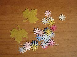 Цветочки бумажные