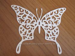 Ажурная  бабочка - высечка