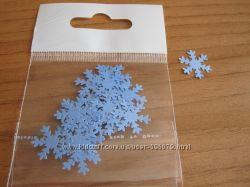 Снежинка бумажная для скрапбукинга