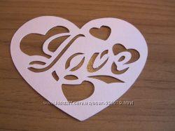 Сердечко Love