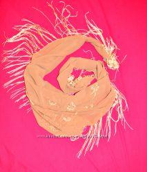 Шёлковый палантин, шаль, платок