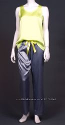 Сатиновые пижамы с брюками PAJAMAS