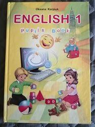 Англійська мова, 1 і 2 клас, Карпюк