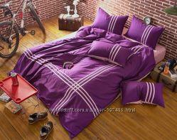 Однотонное постельное белье премиум качества, элитное, натуральное, все размер
