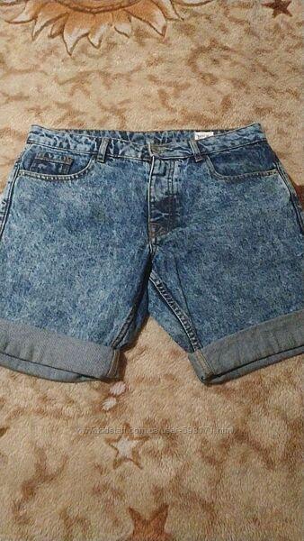 Мужские джинсовые шорты -30 размер