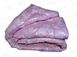 Одеяло лебяжий пух искусственный силикон полуторное, двойное, евро