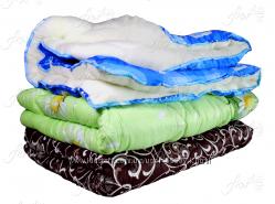 Одеяло шерстяное меховое полуторное, двойное, евро, детское