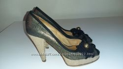 туфли с открытым носочком Gianna Meliani