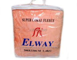 Пледы из микрофибры однотонные Elway Польша