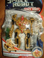 Transformers. Машинка робот-трансформер Hot Detrusion.