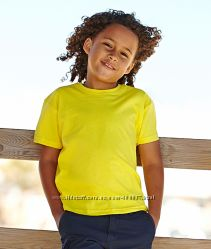 Детские футболки от 3  до 15 лет Fruit of the Loom
