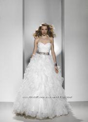 ПродамПрокат свадебное платье Justin Alexander р. 36-38 айвори