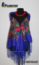 Украинский платок Цветущий сад, 13 цветов