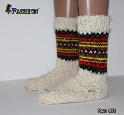 Настоящие шерстяные носки для всей семьи
