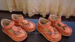 Кожаные туфельки Bartek, 24 р. для двойнят