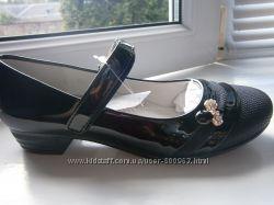 Распродажа Качественные школьные туфли для девочки р. 34-36