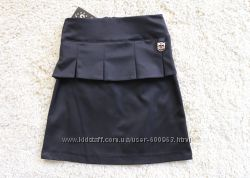 Стильная школьная юбка р. 134-152