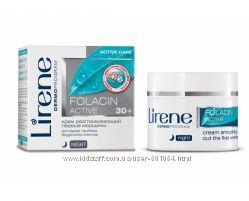 Активный крем против первых морщин для лица, 50мл, Folacin 30, Lirene