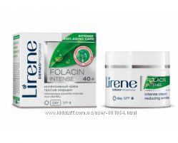 Интенсивный крем против морщин для лица дневной, 50мл, Folacin 40, Lirene