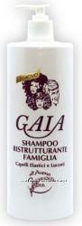 Шампунь с овсом эластичные и блестящие волосы, 1000мл, Gaia, Conter