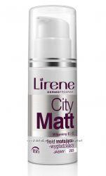 Тональный крем City Matt, 30мл, Тональные флюиды, Lirene