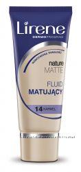 Тональный матирующий флюид Nature Matte, 30мл, Lirene