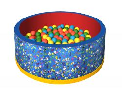 Сухой бассейн с шариками Веселая полянка