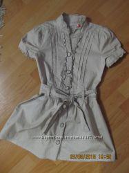 платье летнее 100 котон девочке 8 лет