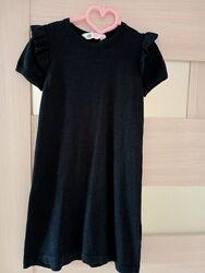 Теплое Платье на девочку 6-8 лет